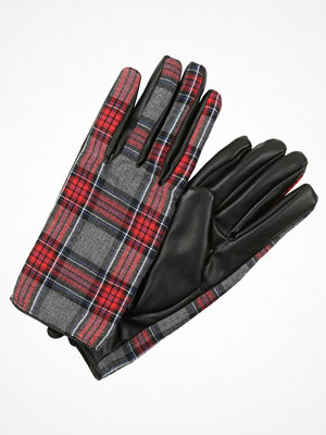 Handskar & vantar - OVS TARTAN Fingervantar black/red check