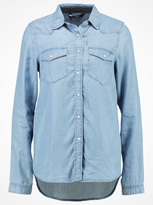 Only ONLNOVA Skjorta light blue denim
