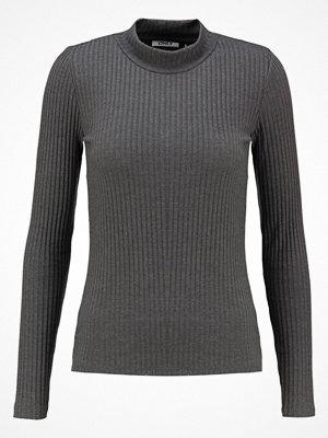 Only ONLTANJA Stickad tröja dark grey melange