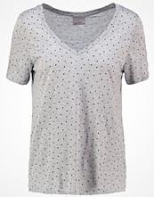 Vero Moda VMGIGI Tshirt med tryck light grey melange/black