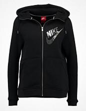 Nike Sportswear Sweatshirt black/anthracite/metallic silver
