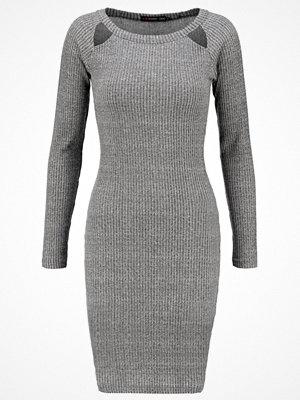 Even&Odd Jerseyklänning grey