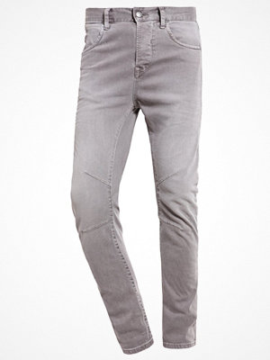 Jack & Jones JJILUKE JJECHO JOS Jeans Tapered Fit charcoal gray