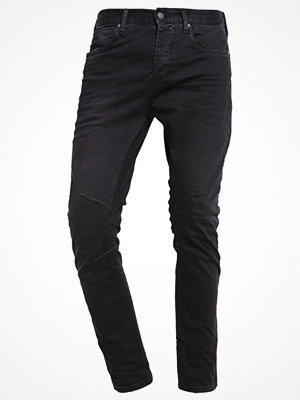 Jack & Jones JJILUKE JJECHO ANTI FIT Jeans Tapered Fit black
