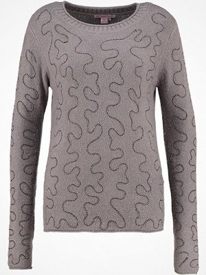 Anna Field Stickad tröja grey melange