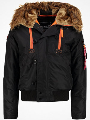 Alpha Industries Vinterjacka black/orange