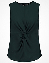 Linnen - New Look Blus dark green