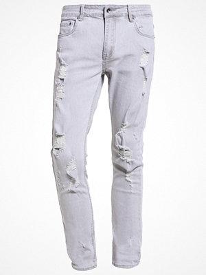 Black Kaviar KOOP Jeans slim fit grey