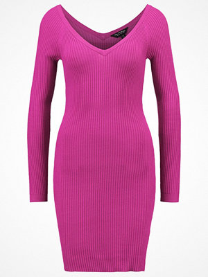 Miss Selfridge Stickad klänning purple
