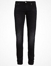 Nudie Jeans LONG JOHN Jeans straight leg black coyote