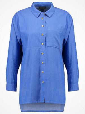 Topshop HATTIE SHEEN CHAMB Skjorta blue