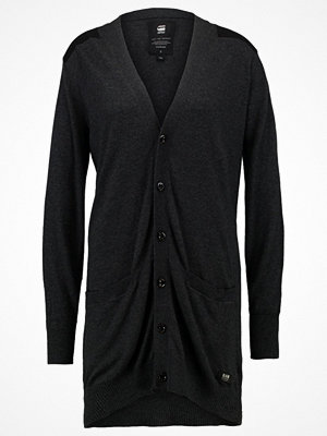 G-Star GStar ZAJIE CARDIGAN KNIT  Kofta black heather