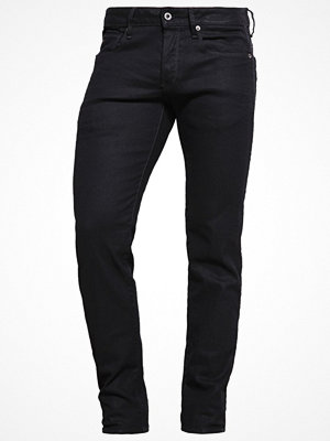 Jeans - G-Star GStar 3301 LOW TAPERED Jeans Tapered Fit black pintt stretch denim