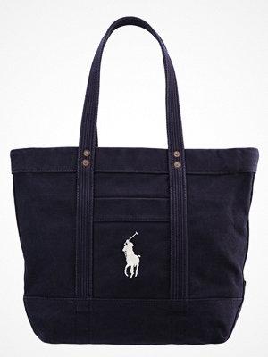 Polo Ralph Lauren svart shopper Shoppingväska navy