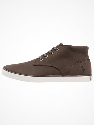 Polo Ralph Lauren ODIE Höga sneakers dark brown