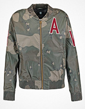 G-Star GStar SPORTS ZIP AW BOMBER L/S  Tunn jacka dark bronze green/turtle green