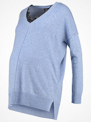 Topshop Maternity Stickad tröja lightblue