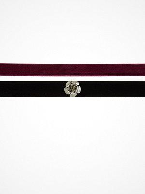 Topshop GRUNGE 2 PACK Halsband black