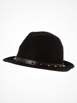 Hattar - Pieces VIVID Hatt black/goldcoloured