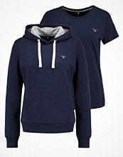 Gant SET Tshirt bas thunder blue