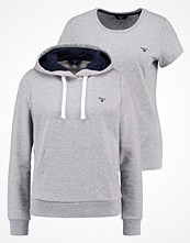 Gant SET Sweatshirt grey melange