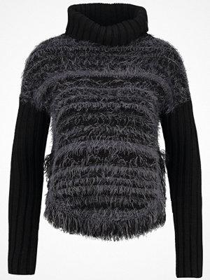 Anna Field Stickad tröja black/grey