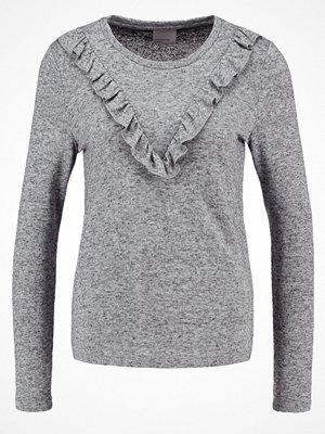 Vero Moda VMRUFFI  Stickad tröja light grey melange
