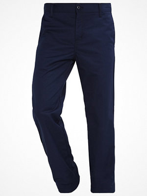 Byxor - Carhartt WIP STATION DUNMORE Chinos navy rinsed