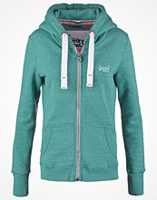 Street & luvtröjor - Superdry Sweatshirt canyon teal snowy