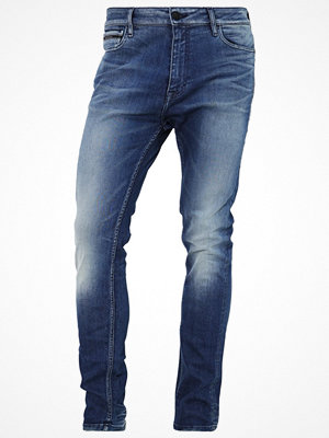 Jeans - Calvin Klein Jeans SKINNY TAPER  Jeans Tapered Fit blue rage