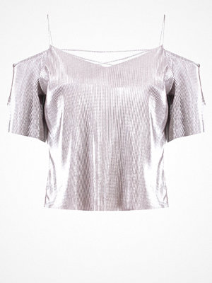 T-shirts - Miss Selfridge Petite Tshirt med tryck metallic
