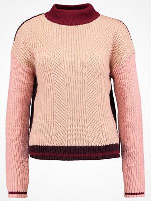 Topshop Stickad tröja pink