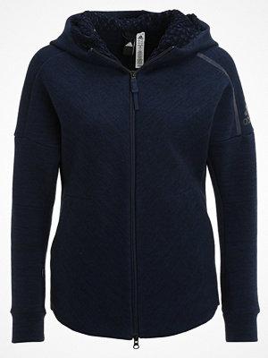 Adidas Performance Z.N.E. TRAVEL Sweatshirt storm heather/coll navy