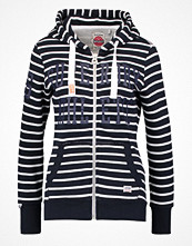 Street & luvtröjor - Superdry Sweatshirt nautical navychalk