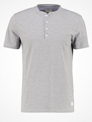Selected Homme SHHNIKLAS  Tshirt bas light grey melange