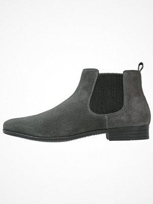Boots & kängor - Pier One Stövletter noirgrey/grey