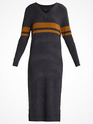 Topshop Stickad klänning charcoal