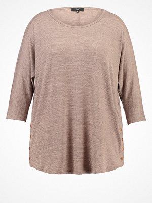 New Look Curves Stickad tröja oatmeal