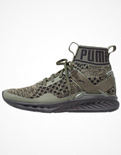 Sport & träningsskor - Puma IGNITE EVOKNIT Sneakers burnt olive/forest night/black