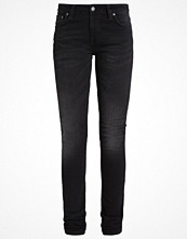 Nudie Jeans LIN Jeans Skinny Fit black waves