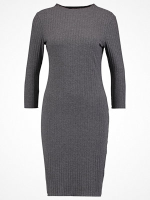 Only ONLFOREVER POPPY Jerseyklänning dark grey melange