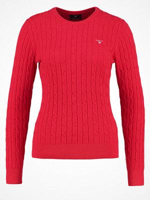 Gant Stickad tröja clear red