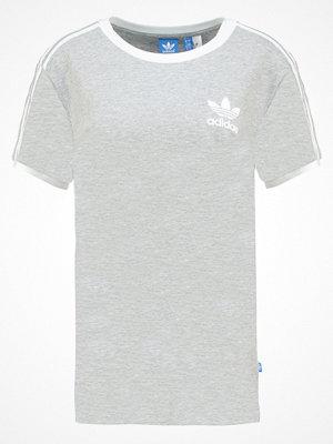 Adidas Originals 3STRIPES  Tshirt med tryck medium grey heather
