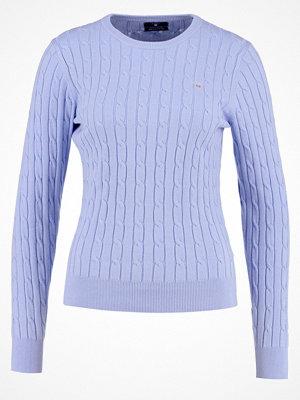 Gant Stickad tröja lavender blue