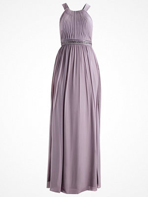 Luxuar Fashion Festklänning steingrau