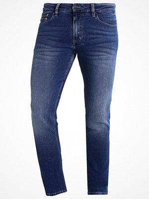Jeans - Calvin Klein Jeans SLIM STRAIGHT  Jeans slim fit blue denim