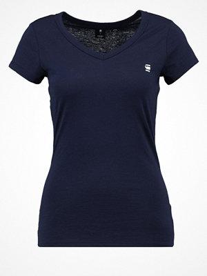 G-Star GStar EYBEN SLIM V T S/S Tshirt bas sartho blue