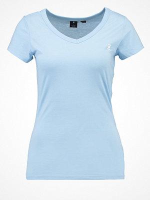 G-Star GStar EYBEN SLIM V T S/S Tshirt bas siali blue