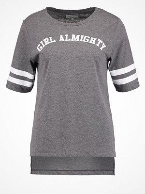 TWINTIP Tshirt med tryck dark grey melange