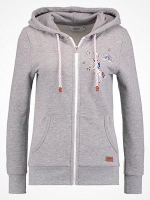 Street & luvtröjor - Only ONLFINLEY  Sweatshirt light grey melange